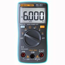 6000 Count Portable True RMS Digital Multimeter, AC/DC Ammeter fathers day gifts