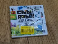 Chibi-Robo! Zip Lash Nintendo 3DS 2DS PAL Game  *NEW & SEALED* Free P&P