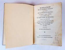 EXEQUIAS À Dª MARIA ISABEL DE BRAGANZA. (1819?)