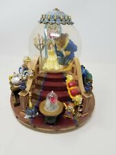 """1991 Disney Beauty And The Beast Snowglobe Water Globe """"The Encahnted Love"""""""