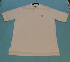 Masters Augusta National Golf Shop White XL Polo Shirt