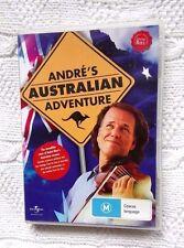 ANDRE'S AUSTRALIAN ADVENTURE (DVD) R- ALL, LIKE NEW, FREE POST WITHIN AUSTRLIA