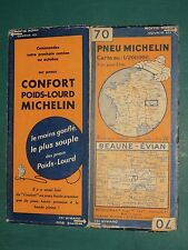 Carte MICHELIN n° 70 Beaune Evian 1931