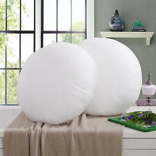 Round Cushion Core PP Cotton Cushion Stuffer Pillowcase Stuffing Sofa Home Decor