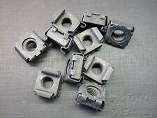 10 pcs 5/16-24 black phosphate low carbon steel cage nuts GM GMC NOS