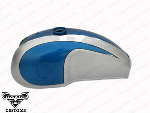 Gas Petrol Fuel Tank Benelli Mojave Dual Kawasaki Cafe Racer Fit For