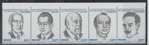 Mexico 1985 Sc C1397a Writers Mint Very Never Hinged