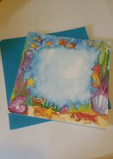 10 Under the Sea  Invitations & Envelopes 8x8 ~ Colors By Design ~ New