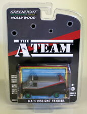 Greenlight 1/64 Scale The A-Team B.A's 1983 GMC Vandura Green Chase Model Car