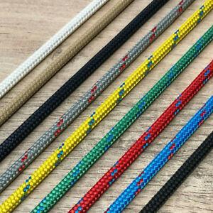 Braid On Braid Rope 6mm to 14mm English Braids Various Colours Priced Per Metre
