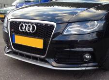 Audi A4 B8 Preface Lift (Non S-Line) Front Bumper Lip Diffuser Spoiler Add On