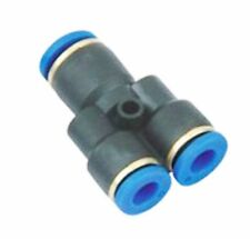 3 Way 4mm Pneumatic Y Push Fit Manifold Quick Fitting Connector Pipe PY-4 4 mm
