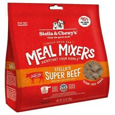 Stella & Chewy's Super Beef Meal Mixers Freeze-Dried Raw Dog Food, 3.5 oz. bag