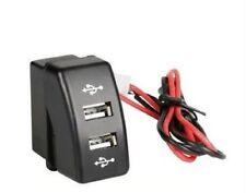 2 instalación especializada-enchufe USB cargador-para DAF XF 95/105 CF ajuste OEM dc 12/24v