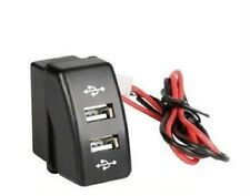2fach Einbau-Steckdose USB-Ladegerät für DAF XF 95/105 CF OEM Passform DC 12/24V