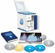 Cinderella Disney Fairy Tale Trilogy 1 2 & 3 Collector's Set Blu-ray DVD Digital