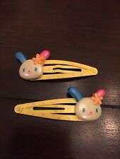Vintage Sanrio Hello Kitty USAHANA BUNNY hair clip charm accessory trinket