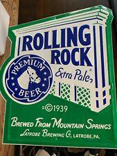 New ListingRolling Rock Vintage Tin Sign