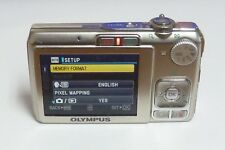 Olympus FE FE-280 8.0MP Digital Camera Silver - GOOD LENS & LCD SCREEN & FLASH
