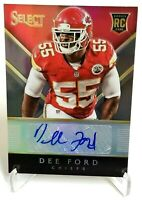2014 Panini Select Rookie Auto Prizm DEE FORD TRUE 1/1 RC Chiefs 49ers 1 of 1