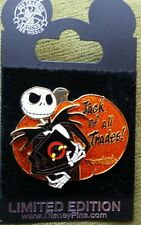 Disney Nightmare Before Christmas Jack of All Trades Pin Trading Night Pin