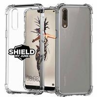 Shockproof Case, Huawei P10 P20 P30 Nova Pro Plus Lite Bump Clear Phone Cover