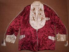 Post Ww2 Japan Tour Souvenir Embroidered Kimono/Smoking Jacket Dragons Original