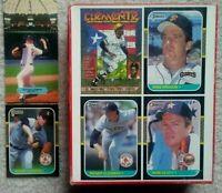 1987 Roger Clemens DONRUSS CARD WAX BOX  #PC-14 #276 Lot Baseball Boston Red Sox