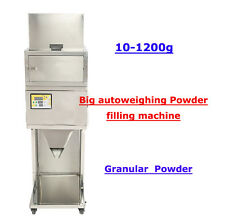 Best quality 110V 10-1200g Powder filling machine vibratory filler tea weigh
