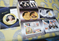 6 publicity cards for Royal Family coins & covers (20.2.32)