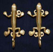 Lizard Shape Door Handle Brass Victorian Style Door Handle Almirah Door Handle