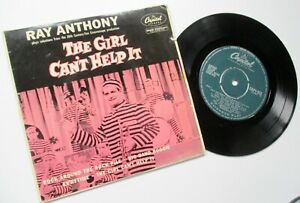 RAY ANYTHONY****THE GIRL CANT HELP IT**1957 CAPITOL 4 TRACK EP PICTURE COVER