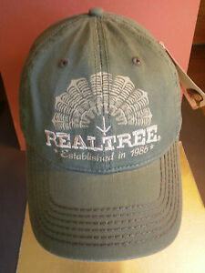 Realtree Hat Buckle Back is Adjustable Hunting Real Tree Established in 1986 NWT