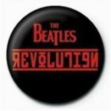 BEATLES revolution - BUTTON BADGE official merchandise - lennon & mccartney