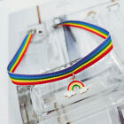 Gay Pride Lgbt Rainbow Woman Necklace Choker Lesbian Bisexual Trans Jewelry Gift