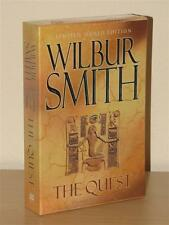 Wilbur Smith, The Quest Signed Limited 1st Edition in Slip Case
