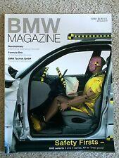 BMW Magazine - 1st Qtr 2001 - Z9 Coupe, BMW F1 team, BMW Technik, IIHS BMWs