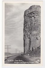 Vintage Postcard Rppc Cape Horn Oregon Trail Highway real photo unused