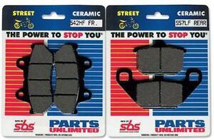 SBS HF Ceramic Brake Pads 542HF