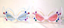 12 PAIR BUTTERFLY JEWELED SUNGLASSES  UV protect #146