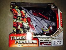 TRANSFORMERS UNIVERSE SILVERBOLT ULTRA CLASS CLASSICs G1 New Sealed