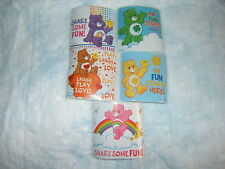5 CareBears Fun Stickers Party Favors