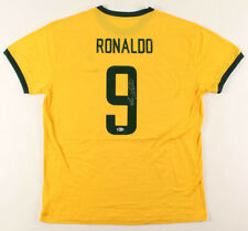 Ronaldo Signed/ Autographed Brazil National Team Jersey Beckett COA