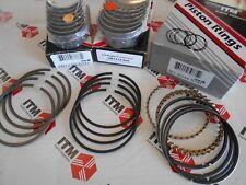 Alfa Romeo 2000cc Main & Rod Bearing Set & Piston Ring Set - All Standard Sizes