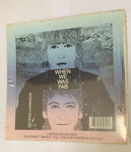 George Harrison When We Was Fab Orig Limited Edition Box Sealed Beatles 1988!!