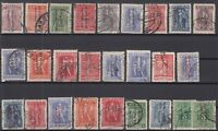 K3796/ GREECE – TURKEY OFFICE – 1912 / 1914 USED SEMI MODERN LOT – CV 645 $