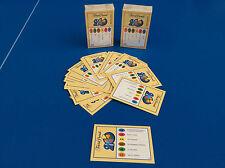 TRIVIAL PURSUIT Lot 50 Carte Jeu 20 eme anniversaire 300 Questions Recharge ! fr