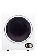 Magic Chef MCSDRY15W Small Portable Compact Electric Dryer 1.5 cu.ft 120Volt