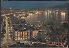 AA5431 Napoli - Città - Panorama notturno - Cartolina postale - Postcard