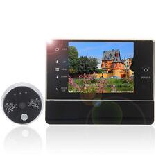 """3.5"""" LCD Digital Peephole Viewer Door Eye Doorbell Video 120°Night Vision Camera"""